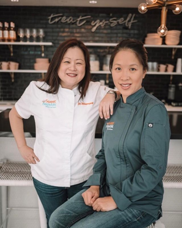 Happy International Women's Day! Co-founders Jan and Helen are from Thailand and Hong Kong, respectively. They each bring unique perspectives to Sweet Republic.  Thank you for this fabulous photo @azfoothills!