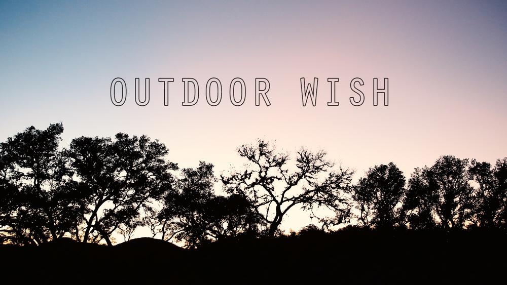 Outdoor Wish - StreetCar Films