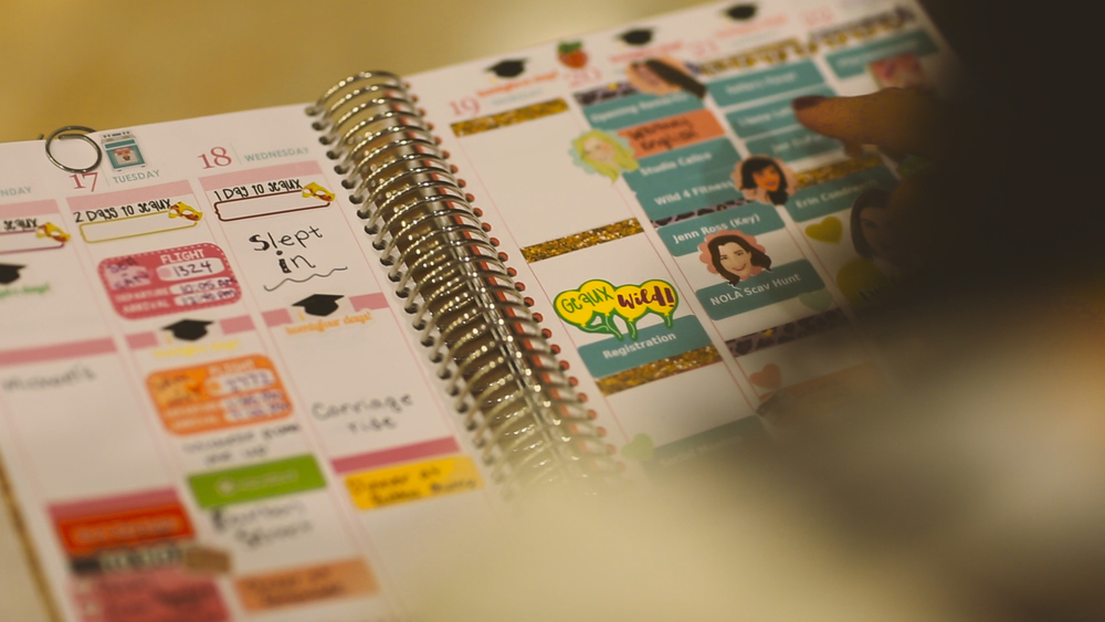 These gals have some pretty planners!