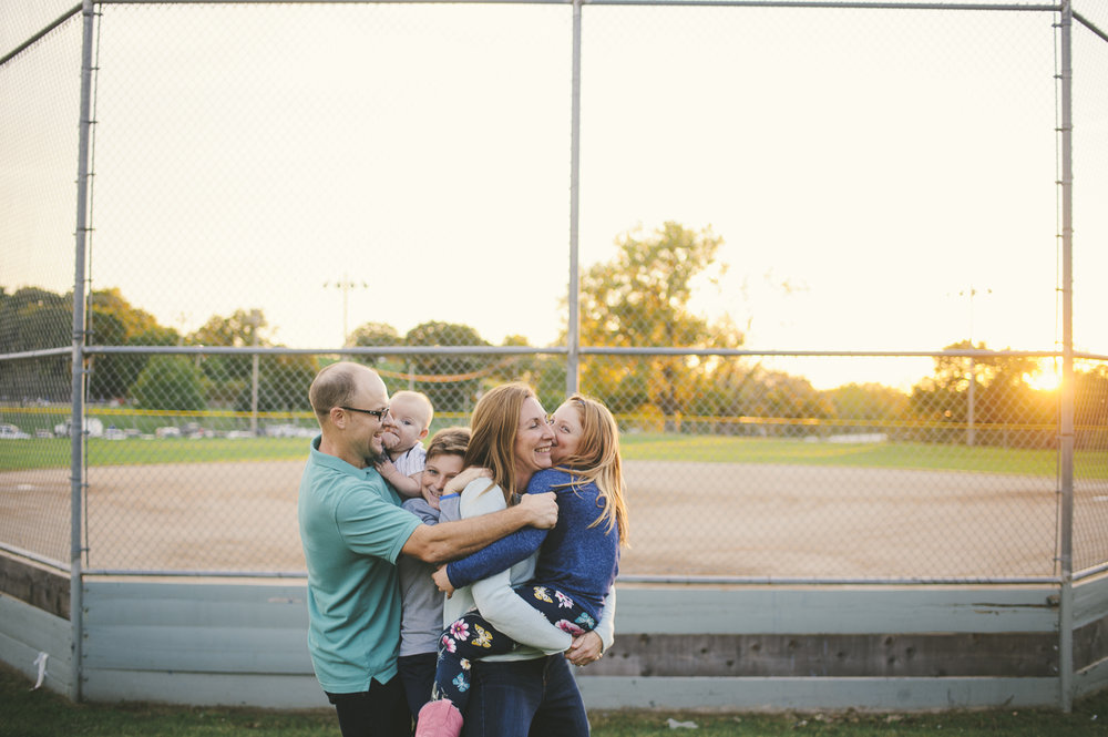 Baseball Family Photography