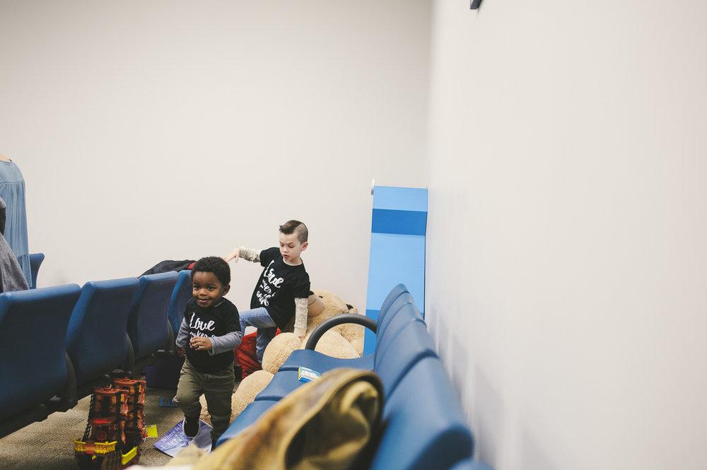 Family Kansas Missouri Adoption Photographer