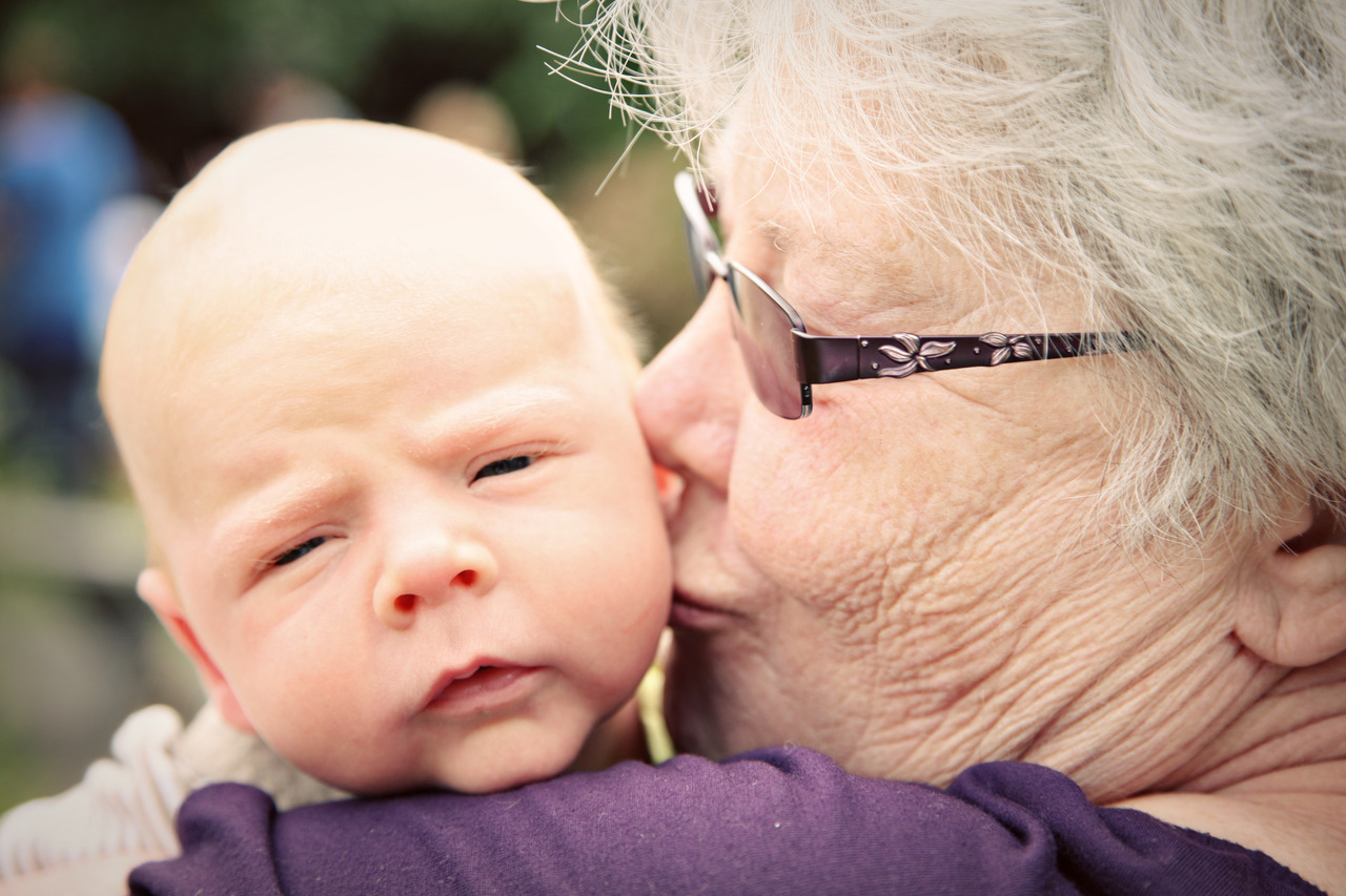 Grandma's love.