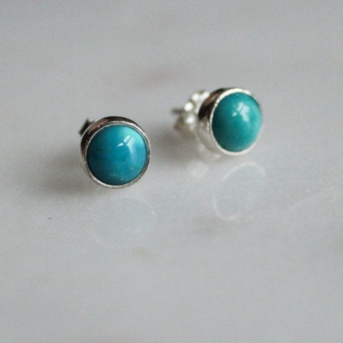 0a85005c5 Small Natural Sleeping Beauty Turquoise Stud Earrings. IMG_1508_edited.jpg