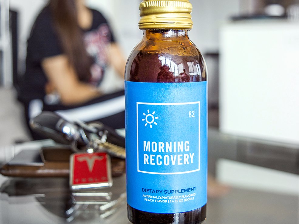 This is definitely one invention I've always wanted to create.  All the ones I've tried in the past were more of a placebo effect vs a cure - heck this may be the same thing.  But this guy seems to be dedicated in ensuring this truly is an aid to help with those morning hangovers we all dread.   Read the full article here.