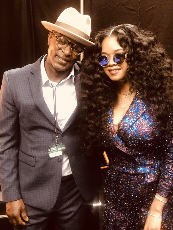 Kenny Wilson (Father of Gabi) and H.E.R.