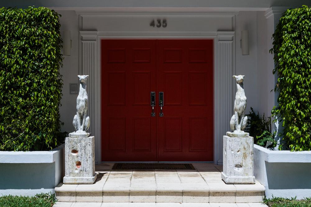 Entrence, Miami Shores Home