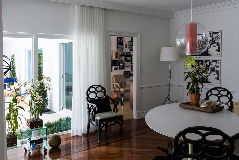 Dining room looking towards the kitchen, Miami Shores Home