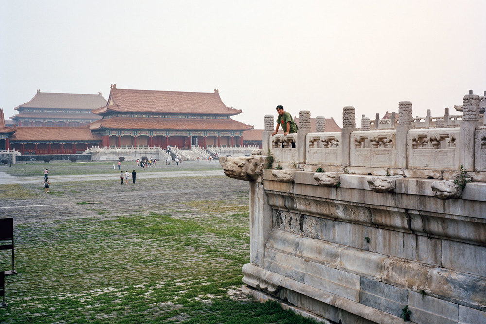 Man at Forbidden City