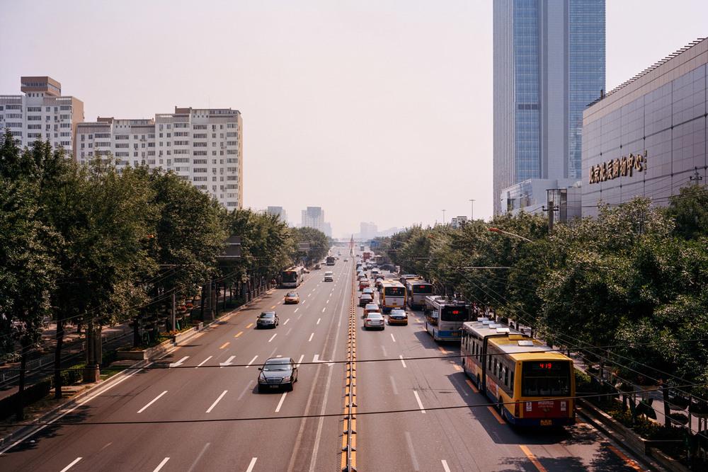 Beijing streetscape