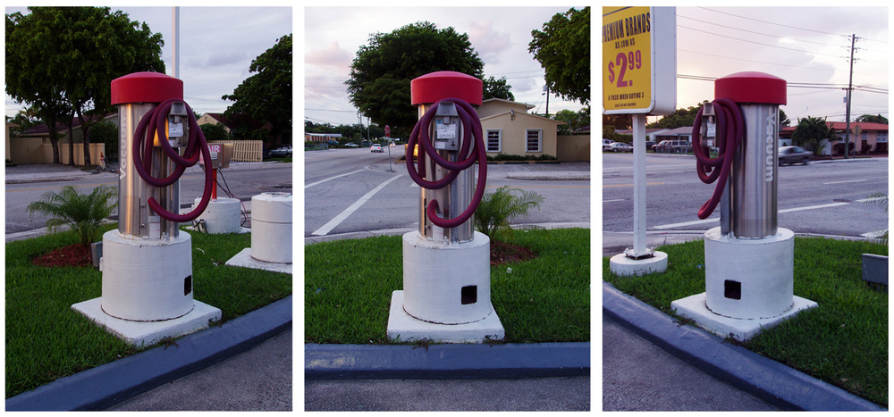 coin operated car vacuum system, out of order, Miami, FL