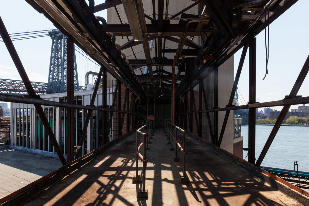 Bridge, Heading Toward Bin Structure, Domino Sugar Factory