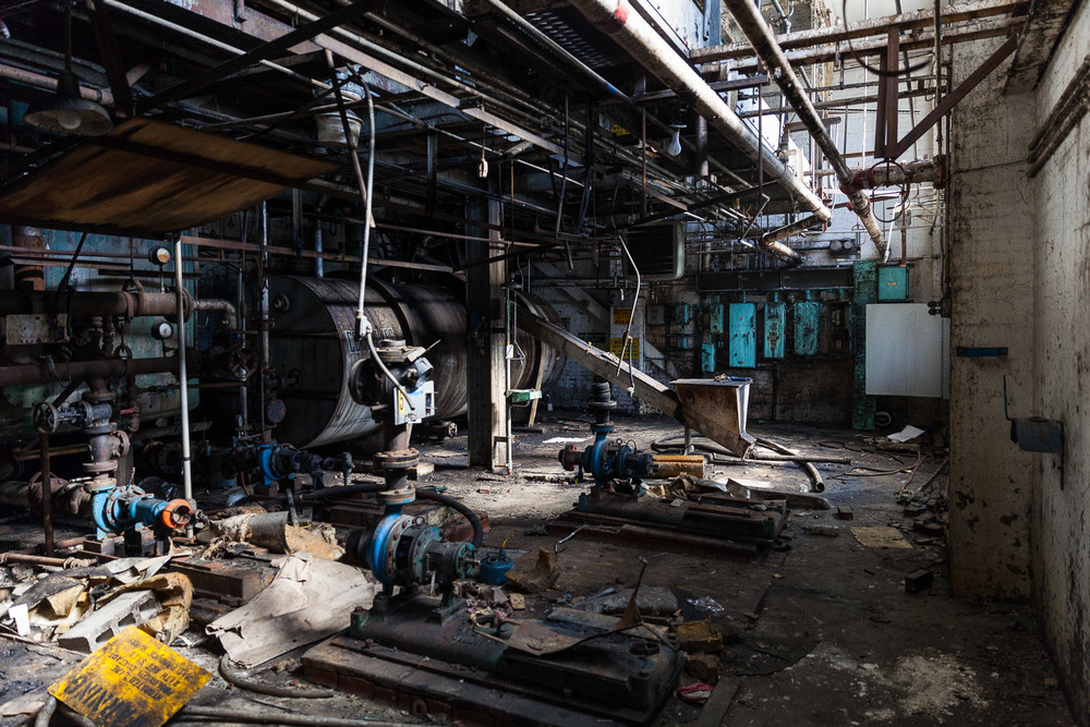 Raw Sugar Wash House — First Floor, Domino Sugar Factory