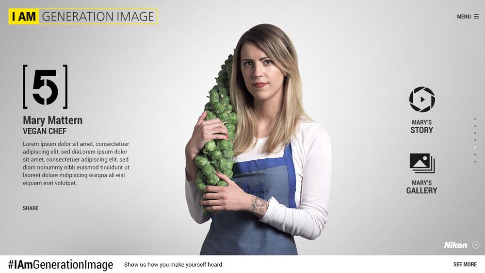 Portrait as featured on iamgenerationimage.nikonusa.com