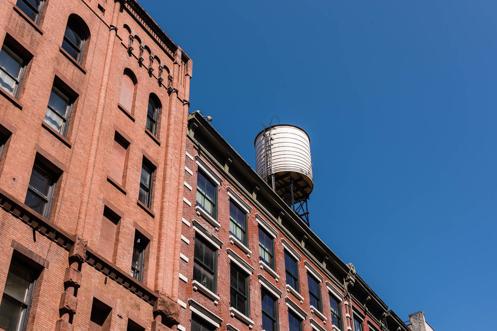 Watertower, SoHo, New York City. ©2015 harlan erskine.