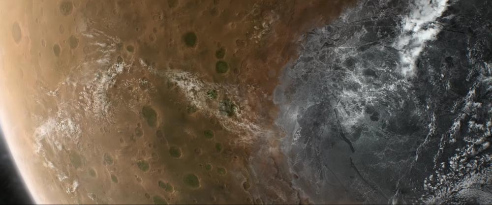 Photo by NASA/JPL/University of Arizona/Goddard Space Flight Center Scientific Visualization Studio. Used in Jamie xx –Gosh–directed by Erik Wernquist.