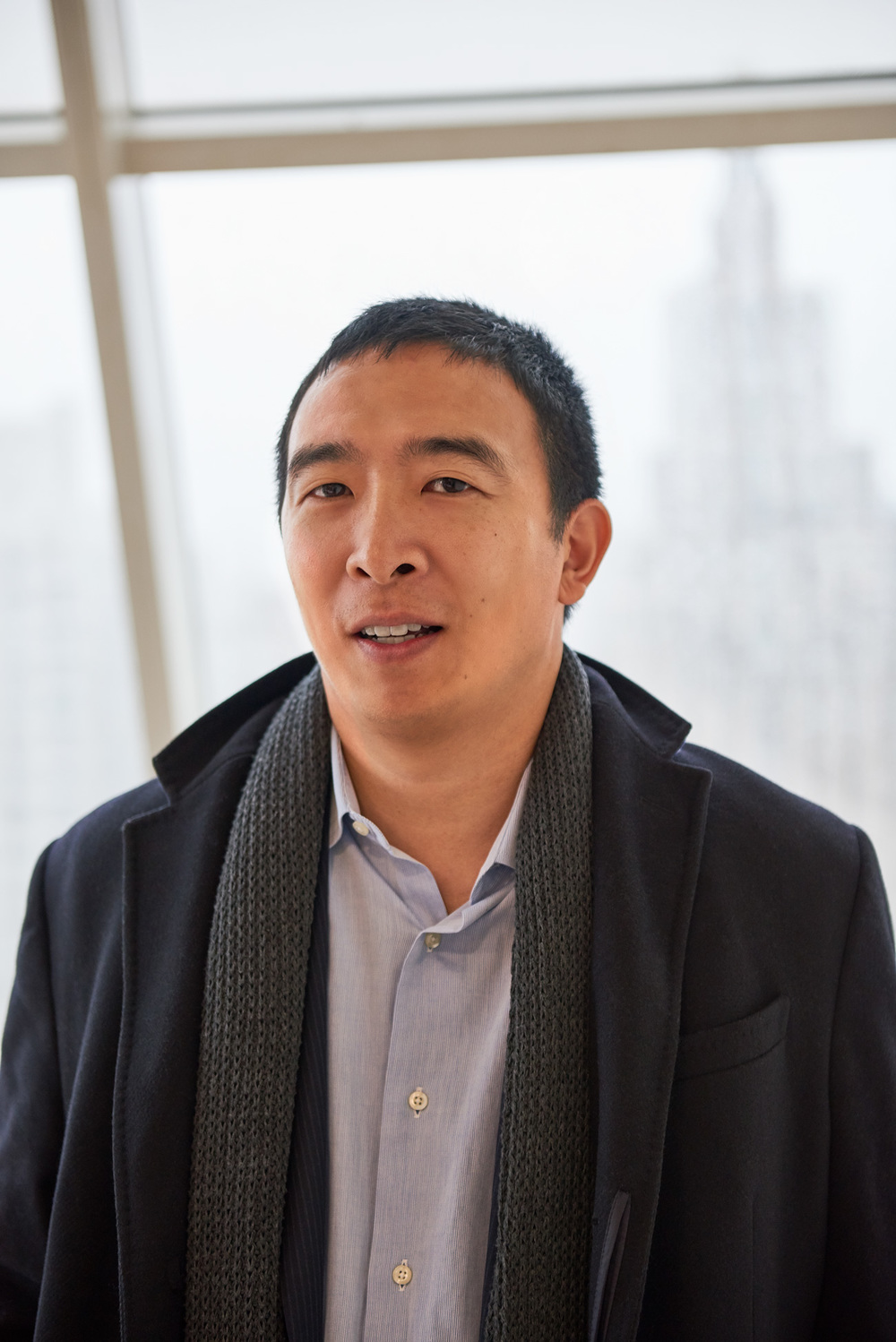 Andrew Yang, Founder and CEO of  Venture for America .