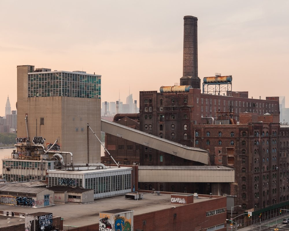 Sugar Decay, Domino Sugar Factory on the Williamsburg Brooklyn Waterfront