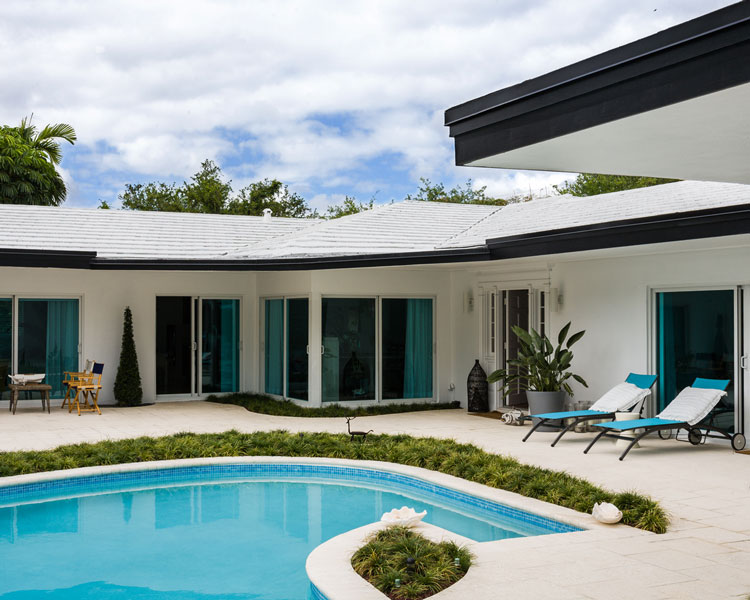 Miami Shores Home, Interior and Exterior Photography