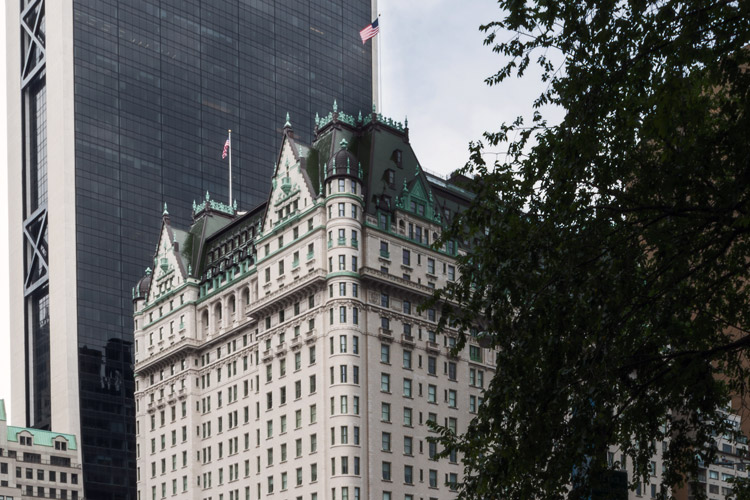 The Plaza Hotel, (crop) 2014  by Harlan Erskine from   Gilded Age , New York City re-photography .