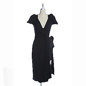 DVF wrap dress, USD$76