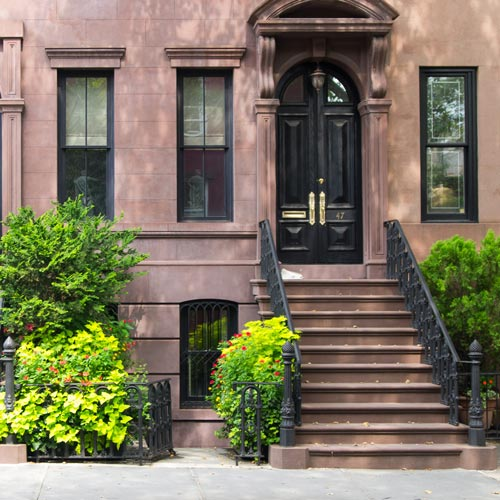 Brownstone in the West Village, NYC by Dan Deluca on Flickr