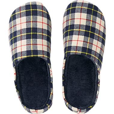 My sister has a bunch of these slippers from Uniqlo. They are super-comfortable, affordable and come in many different patterns. Uniqlo  USD$14.90