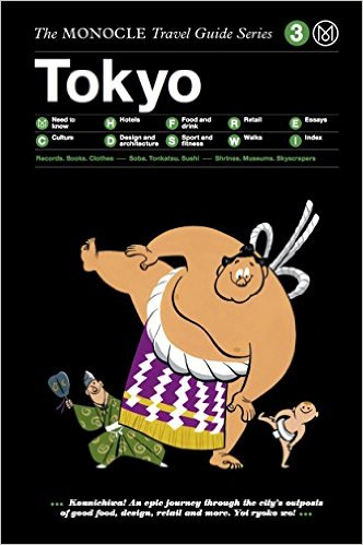 I went to Tokyo in August with this new Monocle Travel Guide. Both the city and the guide were wonderful.  USD$11