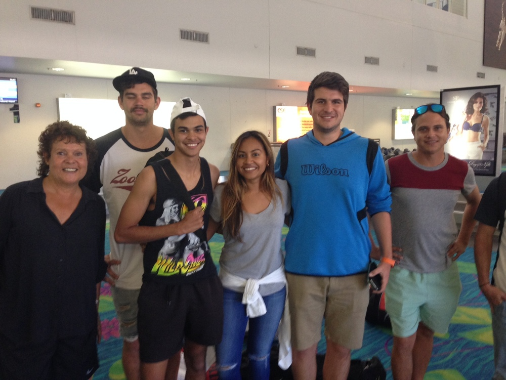 Goolagong Foundation Crew with Evonne and Jessica Mauboy