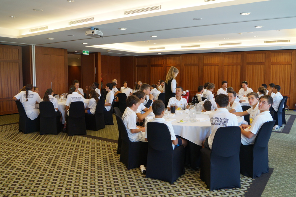 Kooyong LTC welcomes GNDC 2015 to a Slap-up lunch