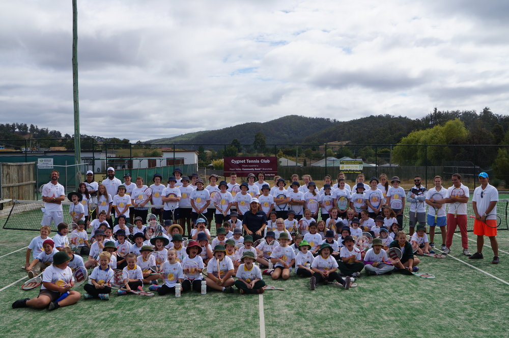101 youngsters attend Come and Try in Cygnet, TAS