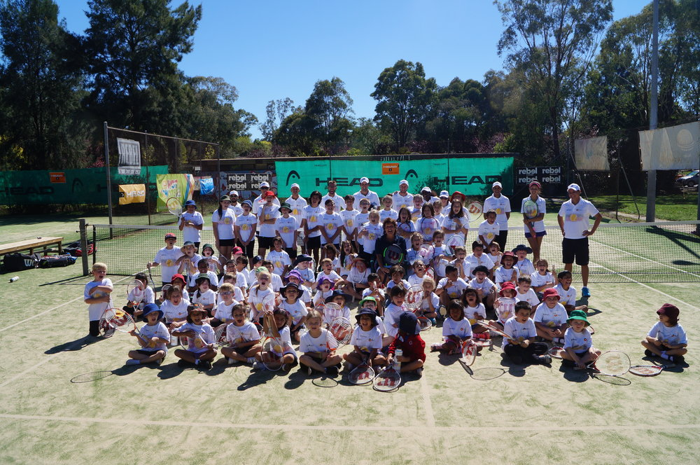 Another great group in Canberra - Thank you Sue, Sandy, Merrin, Owen and all the gang at Melba Tennis Club