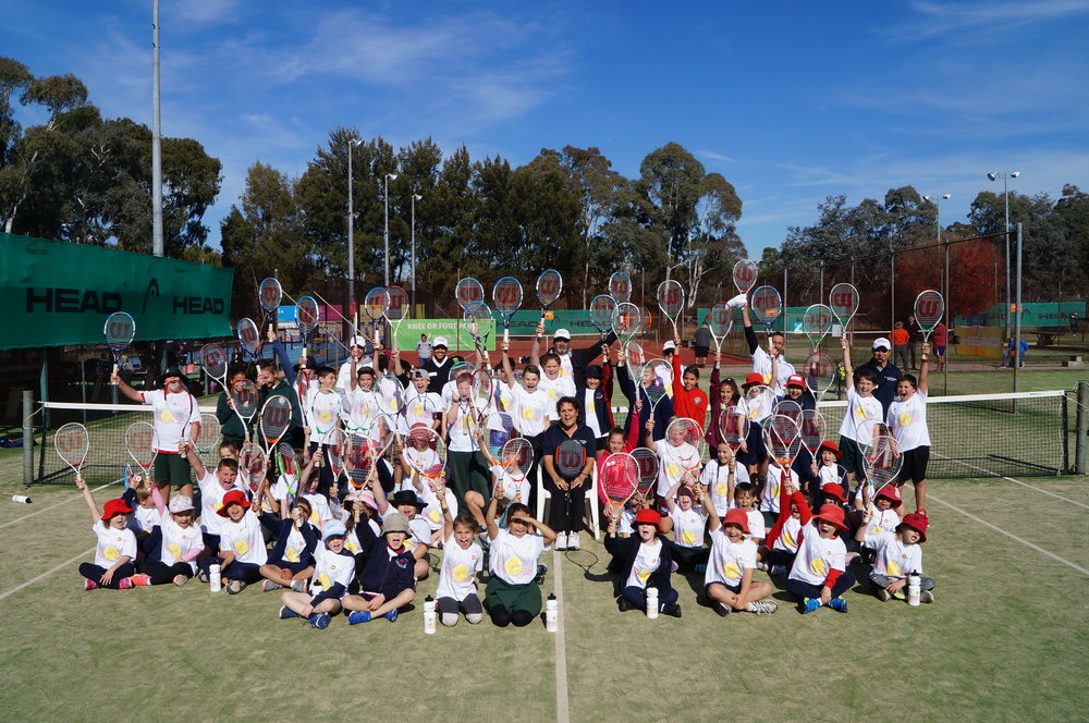 Thank you Sue and the Melba Tennis Club for hosting our Canberra day yet again with extra thanks to Beth and all at Winnunga Niimmityjah Aboriginal Health