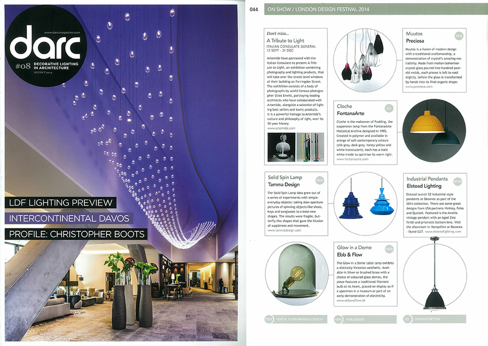 darc decorative lighting in architecture Sep 2014
