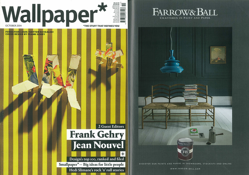 Wallpaper + Farrow&Ball Oct 2014