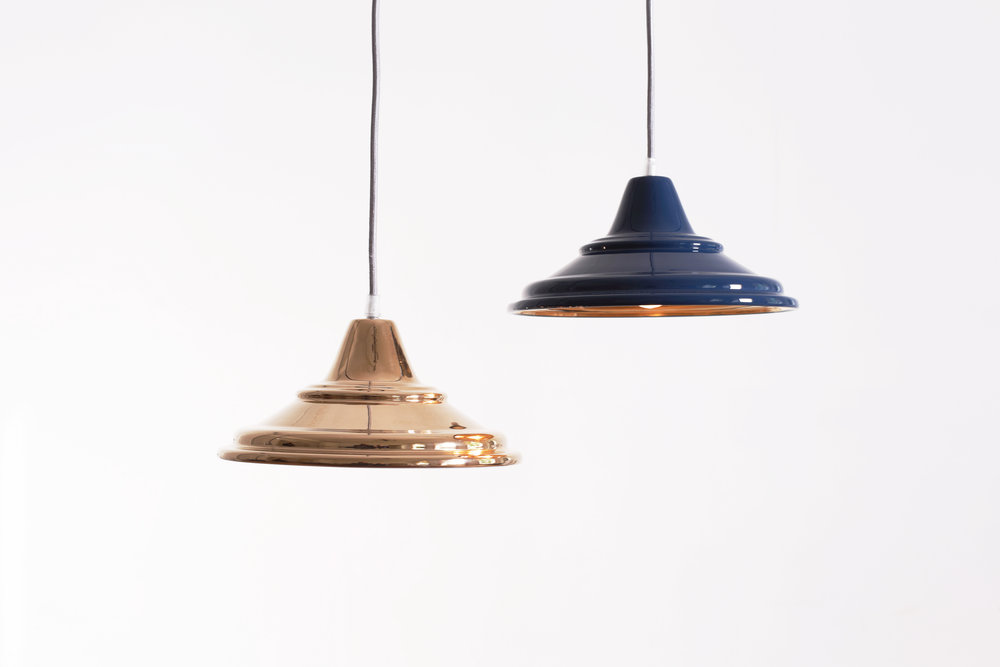 Small Solid Spin Lamps