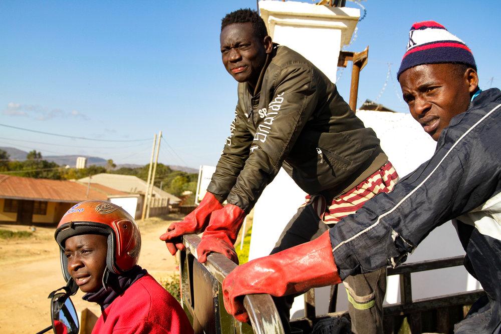 Gadi Hamumugisha    working in Iringa, Tanzania for Taking Pictures, Changing Lives