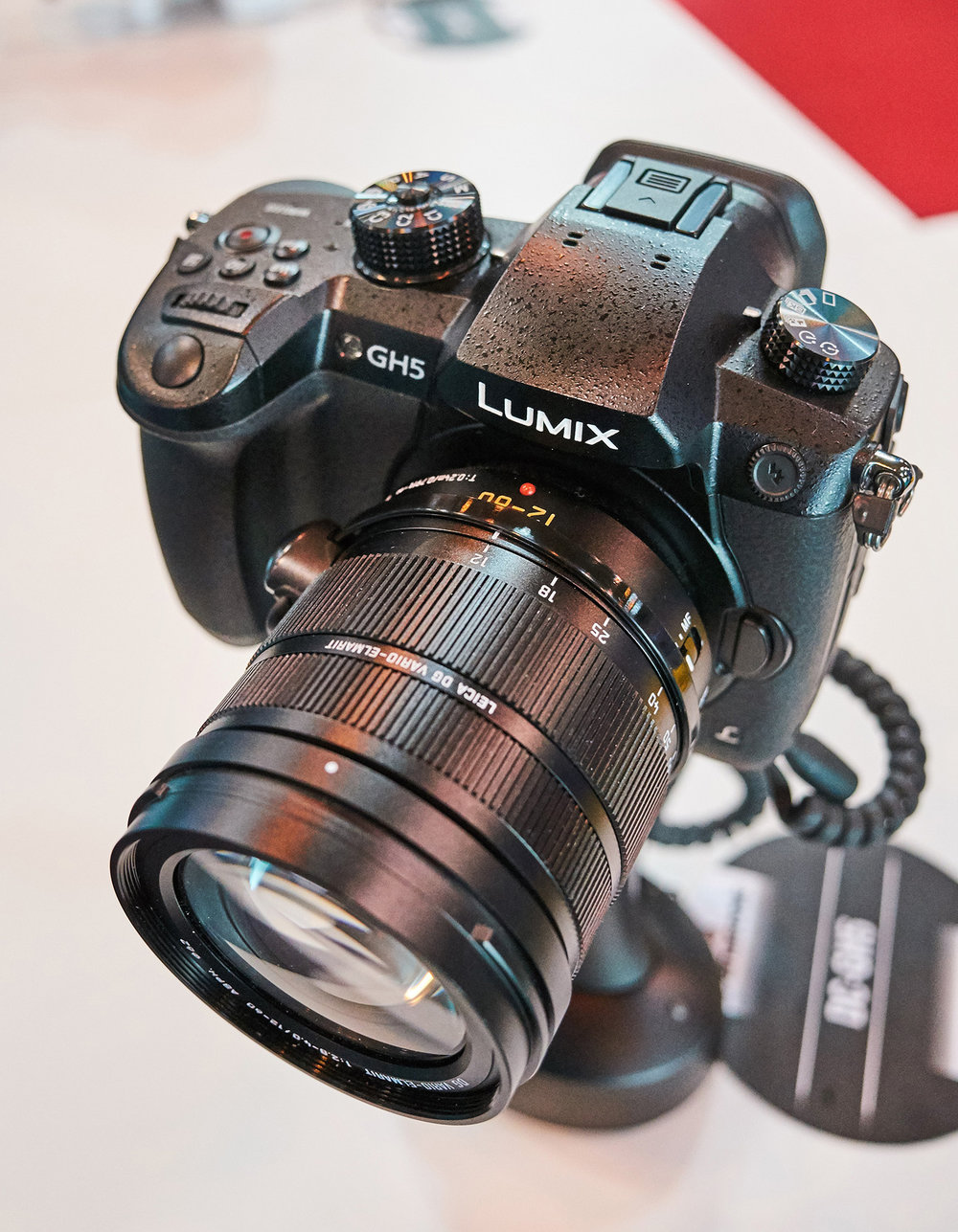 The new Panasonic GH5. Stunning 180 fps and 5 axis in-body stabilisation