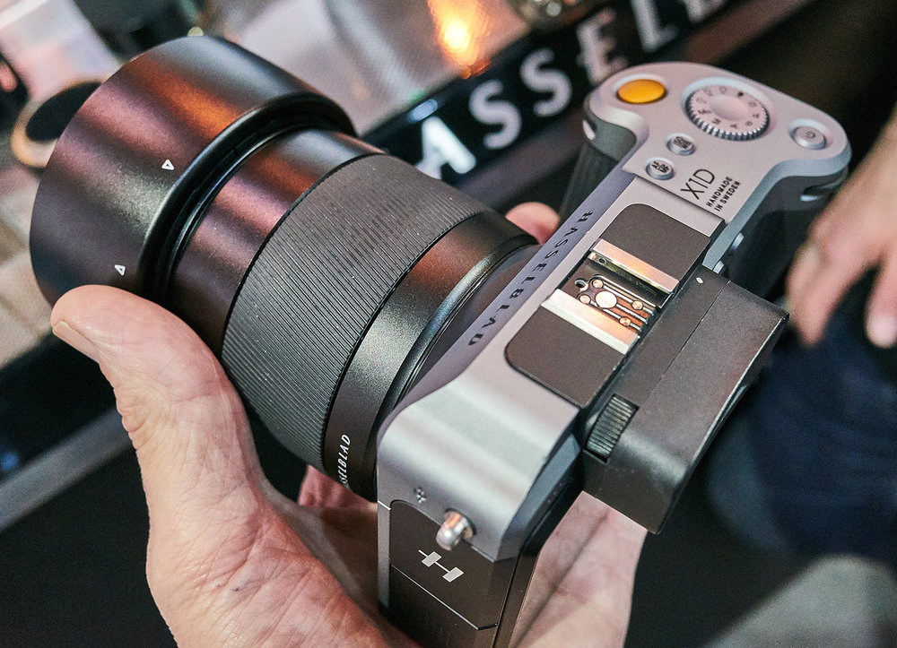 The Hasselblad X1D - feels great in the hand, but is it ready?