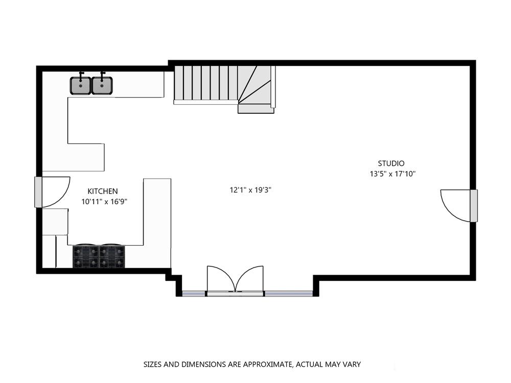 Studio Plan -