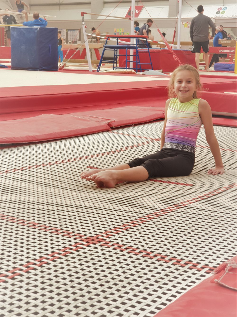 Trampoline sessions