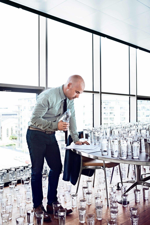 Drink Bottled Water // Self Promotion
