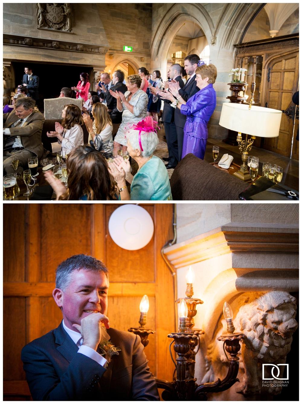 Dublin wedding photographer - Waterford Castle Wedding