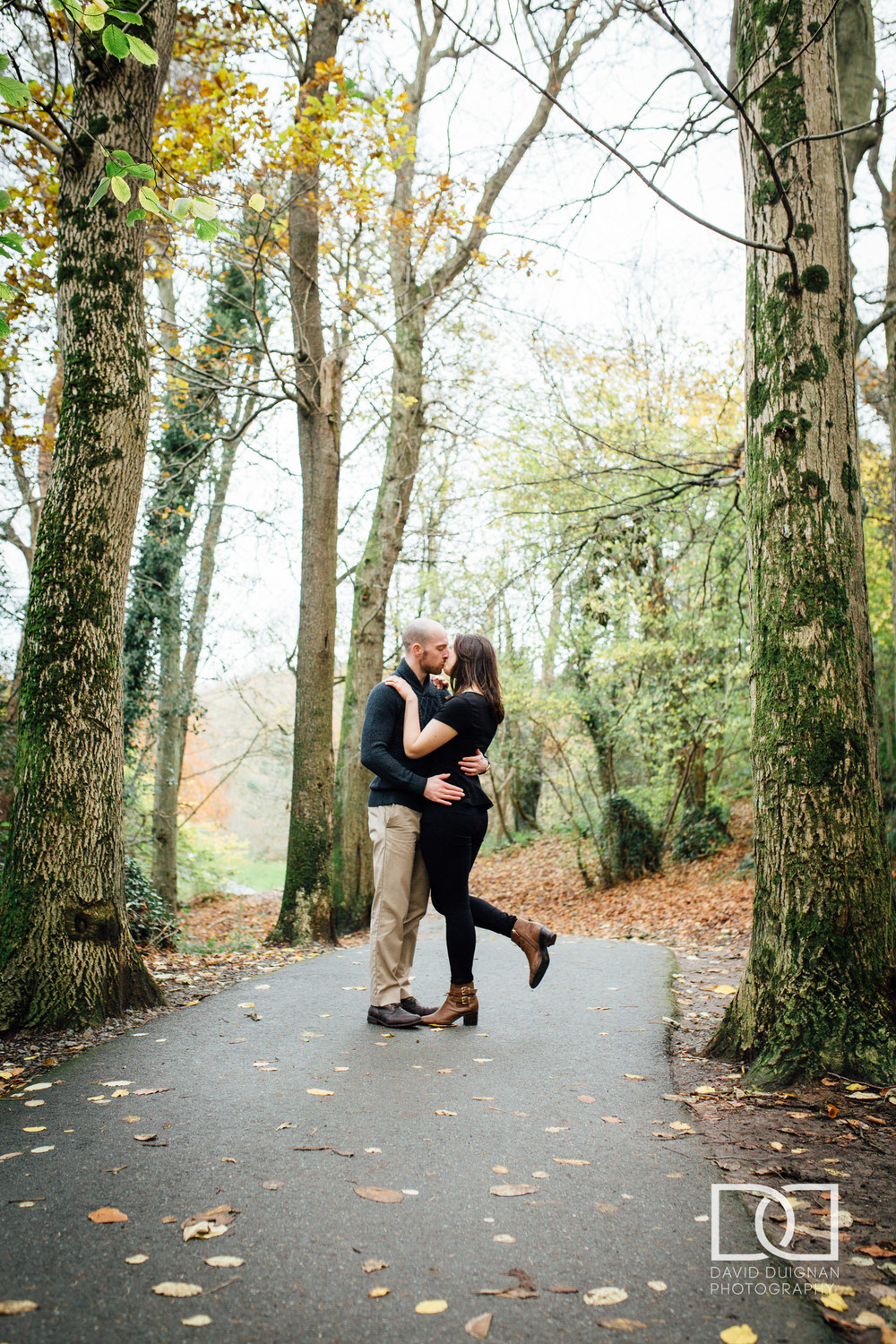 Engagement Love Shoot Killiney Hill Dublin - Pre-Wedding Photographs - David Duignan Photography