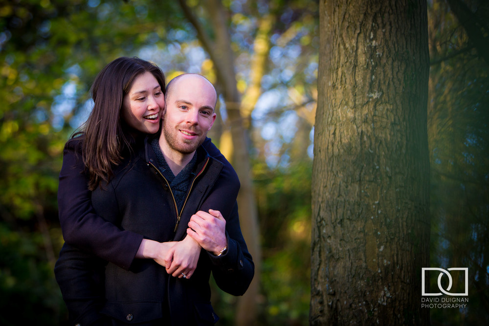 Engagement Shoot Killiney Hill Dublin David Duignan Photography