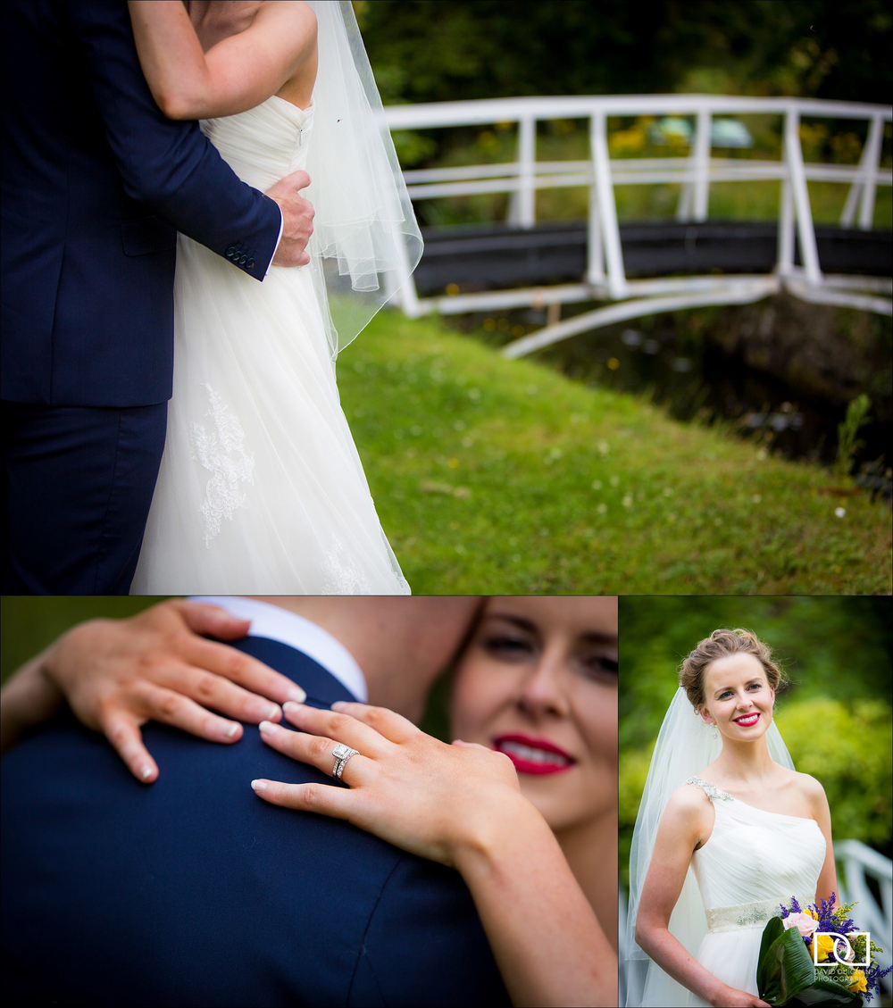 Bellingham Castle wedding - documentary wedding photographer - D