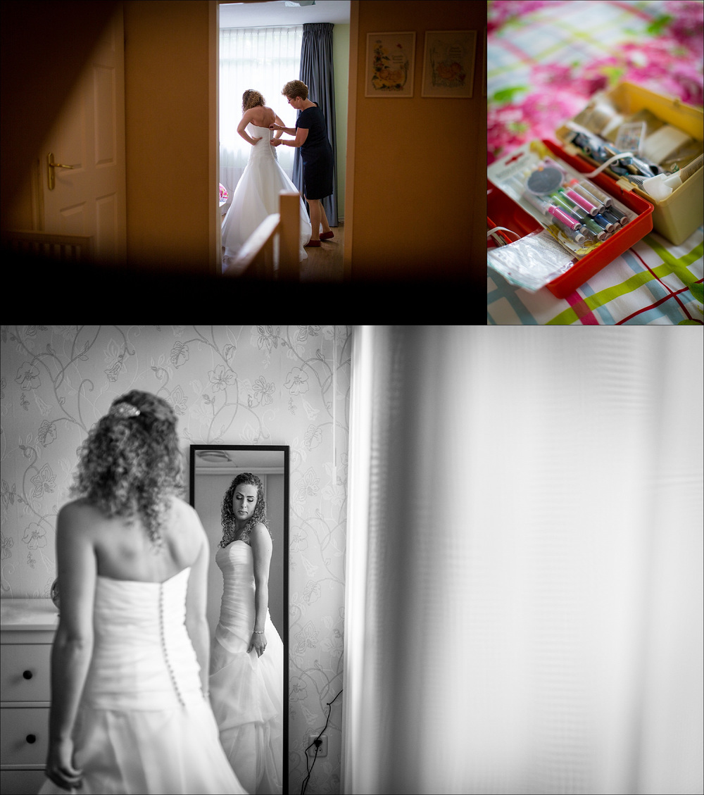 Documentary natural Dublin wedding photographer | creative photo