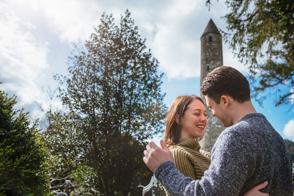 Engagement Photography by David Duignan Photography
