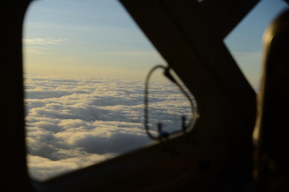 mit dem flugzeug über den corcovado nationalpark auf dem weg nach golfito