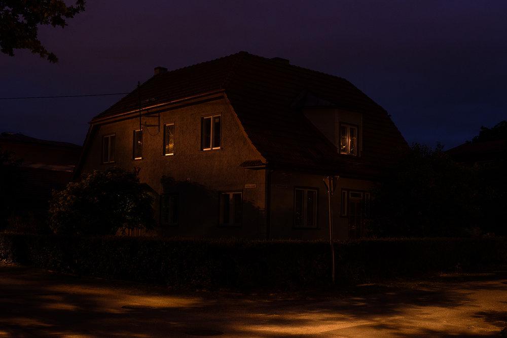 House on a Street Corner
