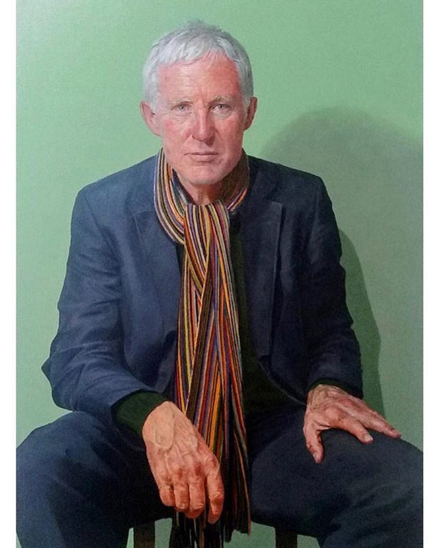 Congratulations to artist @Paul_p_smith for producing another stunning painting for this years BP Portrait Award. #normanlamb #bpportrait #paulpsmith #npg #nationalportraitgallery #fineart #portrait #oilpainting #realism #stmartinsplace #libdem #tannerandlawson